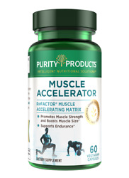 Purity Products Muscle Accelerator 650mg Ripfactor Patented Clinically Tested 60