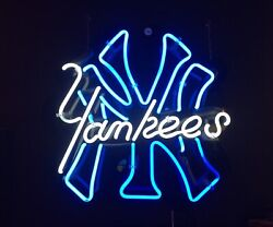 Vintage Neon Sign New York Yankees Baseball 2-colors Rare 1 Of A Kind 2020 Champ