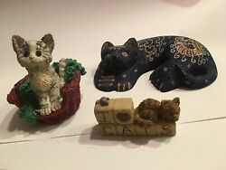 Cat Figurines Collectibles Lot Of Cats