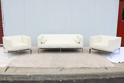 Modern Collin Burry & Terry Walker For Martin Brattrud Sofa And Lounge -Set Of 3