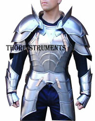 Medieval Antique Collectibles Reenactment Knight Half Suit Of Armor Costume