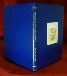 Beatrix Potter  The Tale of Little Pig Robinson First Edition 1930