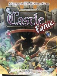 Castle Panic Board Game 2015 Cooperative Tower Defense Team Building New