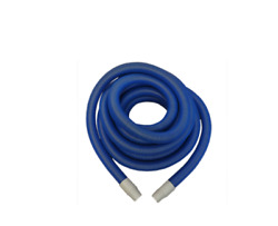 Carpet Cleaning 50and039 Truckmount Vacuum Hose 2 Blue Free Shipping