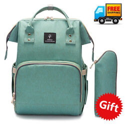 New Mummy Backpack Diaper Bags Large Multifunctional Baby Nappy Changing Bag $30.07