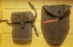 Vintage Vietnam Era Pouch And Cover For Shovel Dated 1965 Yt23