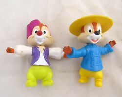 Mcdonalds Toy Disney Chip China And Dale In Morocco Figure Figurine Cake Topper