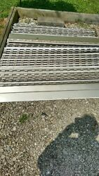 Gutter Covers -4ft Long Each, 40 Pieces Total 160ft