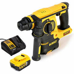 Dewalt Dch253n 18v Xr Sds+ Rotary Hammer Drill With 1 X 5.0ah Battery And Charger