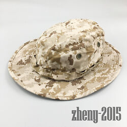 Nwt Nwu Type Ii Navy Seal Aor1 Desert Marpat Boonie Hat Sun Cover Size Small