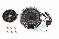 Multi Ratio Speedometer Tachometer Combo For Harley Davidson By V-twin