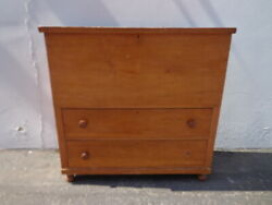 Antique Dresser Chest Trunk Tall Boy Highboy Drawers Shabby Chic Country Storage