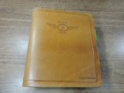 Coyote Works Binder W/ Jeppesen Airway Manual Charts And Procedures Brown