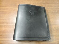 Coyote Works Binder W/ Jeppesen Airway Manual Charts And Procedures Black