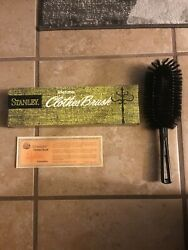 Vintage Stanley HOME PRODUCTS His Brush Life Time Guarantee Clothes Brush #3046