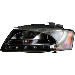 AU2502161 New  Driver Side Head Lamp Assembly HID wo Curve Lamp Control Bulb