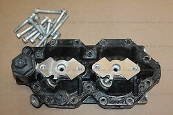 E-tec Cylinder Head Port 5006257 Cleaned Outboard Engine W/head Bolts