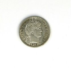 Raw 1916 Barber 10c Uncertified Ungraded Circulated Us Mint Silver Dime Coin