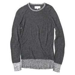 VAINL ARCHIVE Japan High gauge crew neck knit with elbow patch VA-13Stainles...