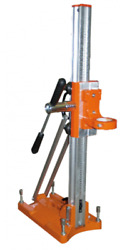 Drill Stand/roller Carriage By Golz For Use With Handheld Core Drill-laserpoint