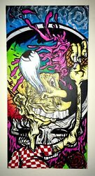 Aaron Brooks Original Grateful Dead Ice Cream Kid Canvas Painting