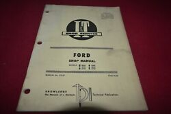 Ford 8000 9000 8600 9600 8700 9700 Tractor Iandt Shop Manual Yabe20