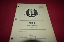 Ford 8000 9000 8600 9600 Tractor Iandt Shop Manual Yabe20