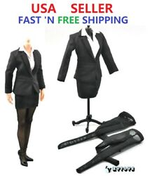 1/6 Scale Business Career Skirt Suits Set For 12 Female Action Figure Doll