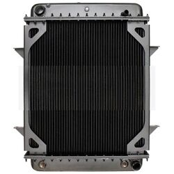 New Radiator For Front Engine Thomas Bus With Oil Cooler On Engine Side