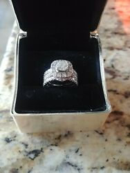 Neil Lane Diamond Rings Fused Kay Jewelers Great Condition Si-1 F In Color