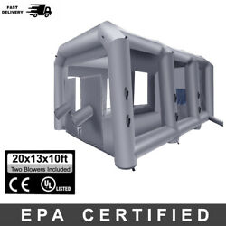 20x13x10ftepa6h Mobile Portable Inflatable Spray Paint Booth Tent Painting Booth