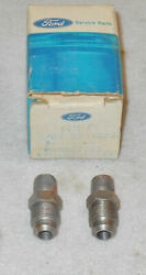 1965 1966 1967 1968 1969 1970 Ford Mustang Nos Radiator Coolant Line Connectors