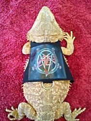 Lil#x27; Bestie Bearded Dragon reptile Harness and Leash SLAYER