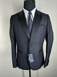 Paul Smith New Rare Made In Italy One Btn Tuxedo Side Vents Wool Blend 42 Reg