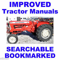 Allis Chalmers Ac D15 Series Ii 2 Shop Service Repair Manual - Searchable On Cd
