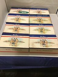 Lot Of 8 Vintage Wm Penn Perfecto America's Great Cigar Boxes