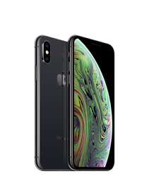 Iphone Xs Max - Space Gray W/phantom-2 Case + Screen Protector 1,158 Value