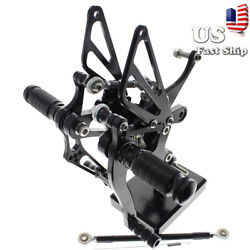 Motor Footrest Foot Peg Rearsets For Yzf R1 1998 1999 2003 2002 2001 2000