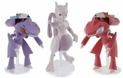 Pokemon Plastic Model Collection Red Genesect And Genesect And Mewtwo Set Kit 45