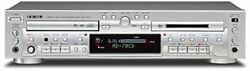 Teac Md-70cd-s Cd Player / Md Recorder Silver Mini Disc / Cd Combination Deck W