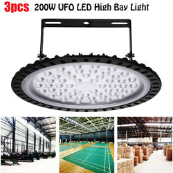 3X 200W LED High Bay Light Industrial Factory Commercial Football Field Lamp