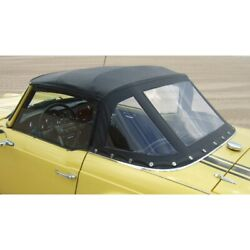 New Black Convertible Top Triumph Tr4a Best Quality Robbins Brand Made Usa