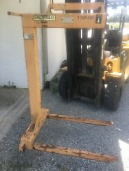 Caldwell 93w-1-48 Pallet Lifter, Wheeled, 1t 2000 , Fork Length 36