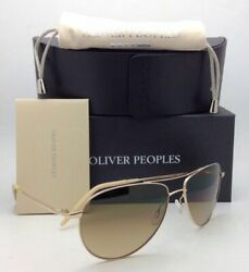Photochromic Oliver Peoples Sunglasses Benedict Ov 1002-s 5242/51 Gold W/ Brown
