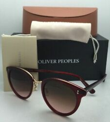 Photochromic Oliver Peoples Sunglasses Spelman Ov 5323s 152895 Ruby And Gold Frame