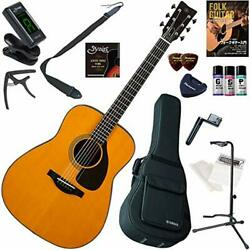 YAMAHA Acoustic Guitar Beginner Introduction Spruce veneer with A.R.E. Mahogany