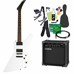 Epiphone 1984 Explorer EX EMG AW (Alpine White) Explorer Electric guitar beginne