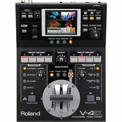 Roland V-4ex Four Channel Digital Video Mixer Effects Touch Control V4ex