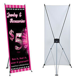 Jewelry Banner X Stand Included 24x 63 Events For Paparaz Consultant Sales