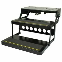 Lippert 3726892 Kwikee 40 Series Double Tread Electric Folding Step Entry Step